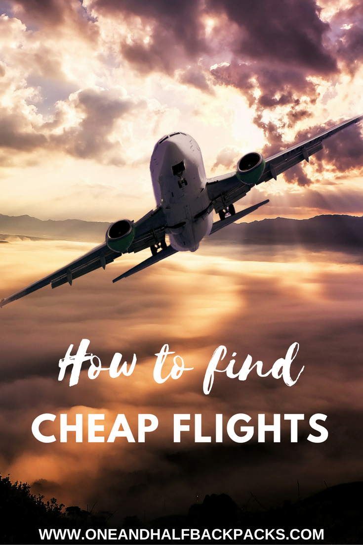 How to find cheap flights one and half backpacks for How to find cheapest flight
